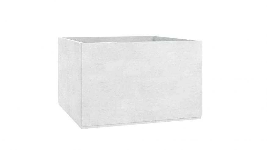 donice betonowe Adamo biały