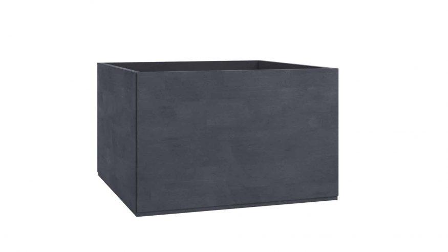 donice betonowe Adamo czarny