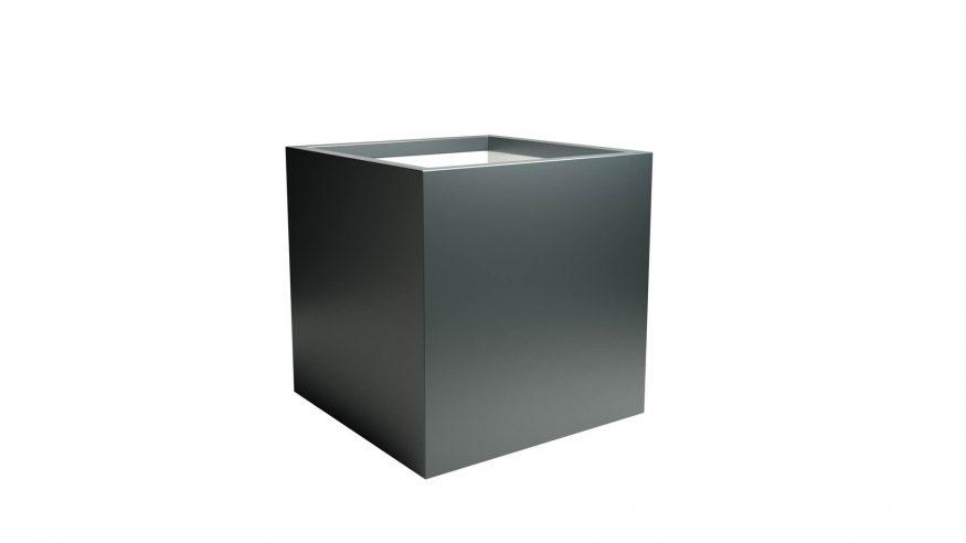 Kwadratowa donica aluminiowa Alessio 4