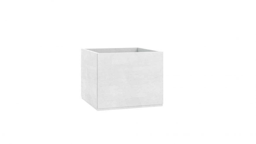 doniczki z betonu Alice biały