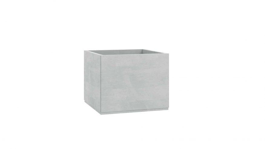 doniczki z betonu Alice szary