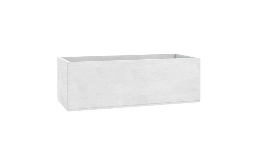 donice betonowe ogrodowe Angelo biały