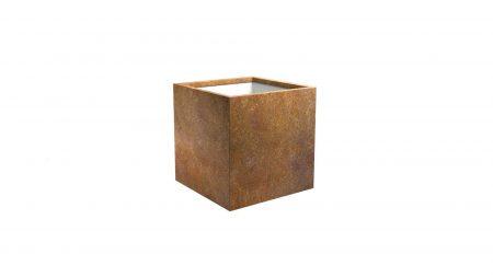 Donica metalowa – corten Cubi 2