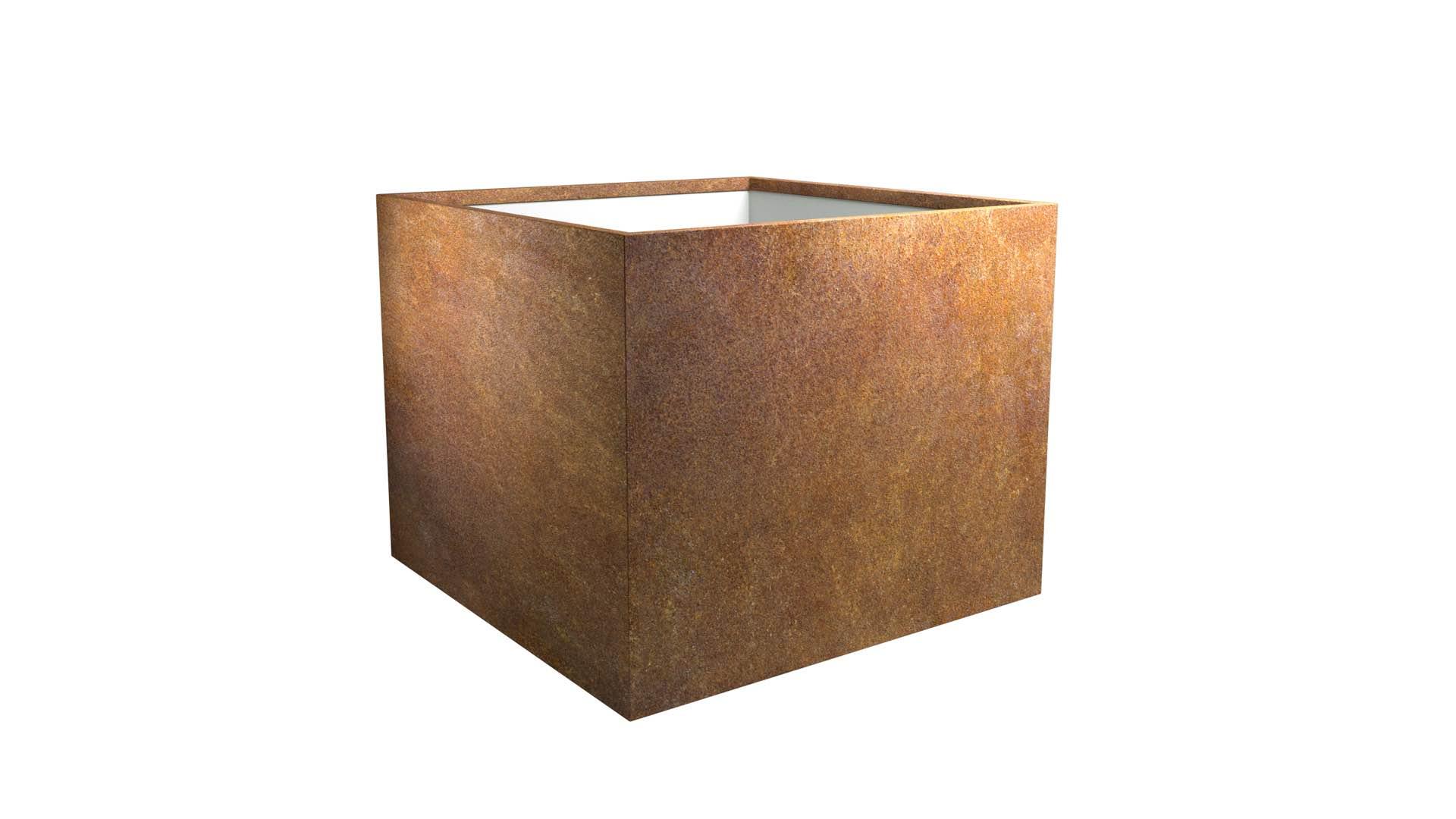 stalowe donice Cubi 6