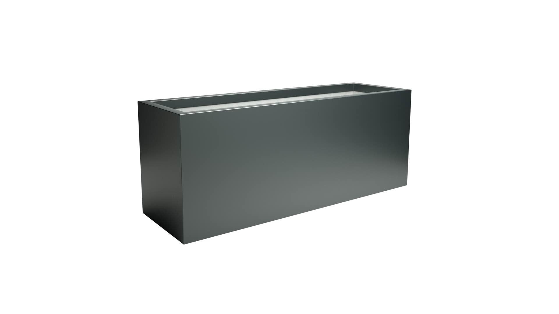 donice aluminiowe Edoardo 3