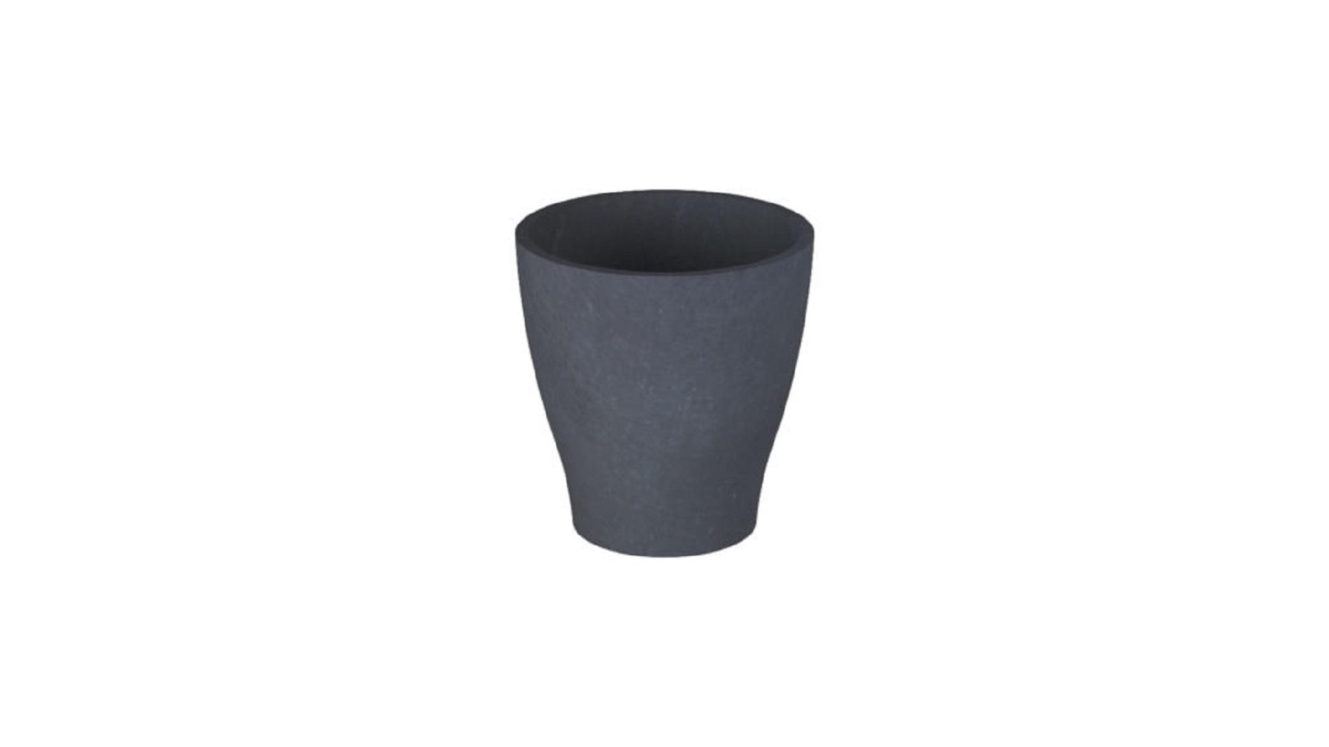 donice z betonu Gaia czarny