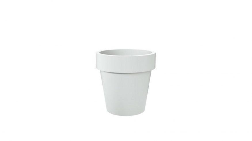 donice betonowe okrągłe Isabelle biały