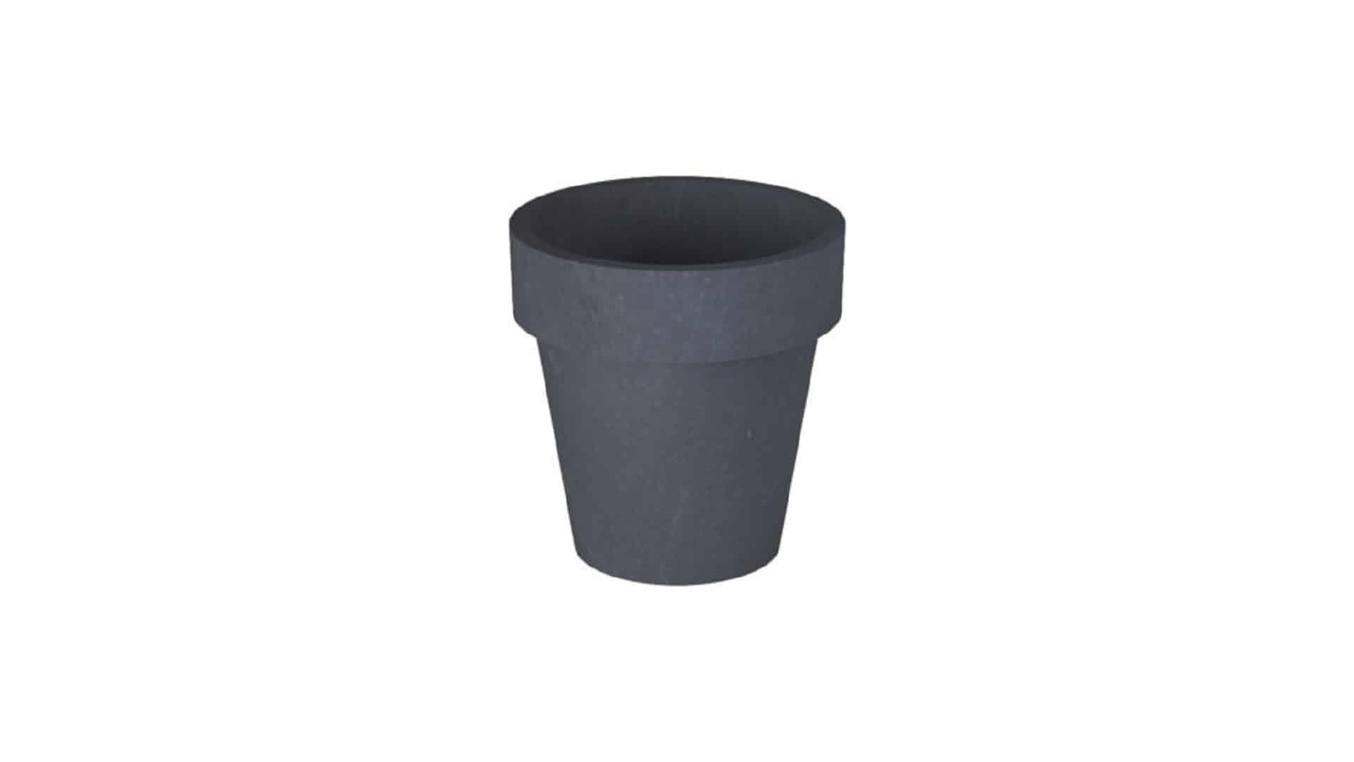 donice betonowe okrągłe Isabelle czarny