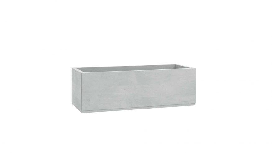 donica betonowa ogrodowa Leocadia szary