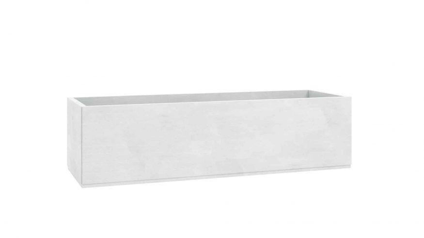 donice ogrodowe betonowe Martina biały