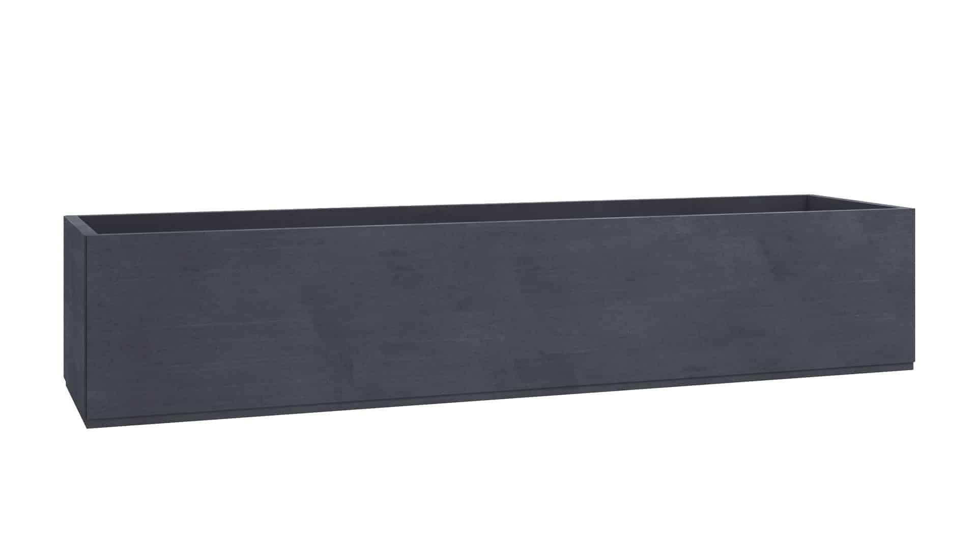 donice betonowe duże Massimo czarny