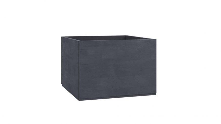 donice betonowe na taras Monica czarny