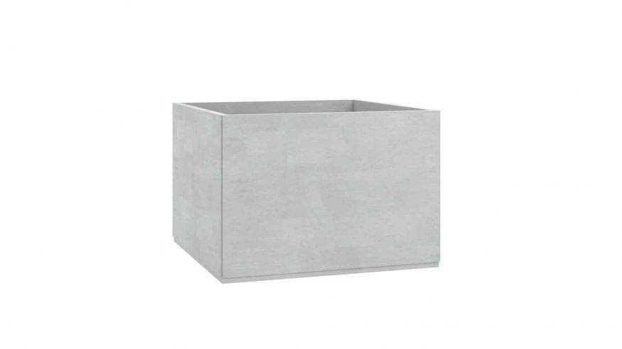 donice betonowe na taras Monica szary