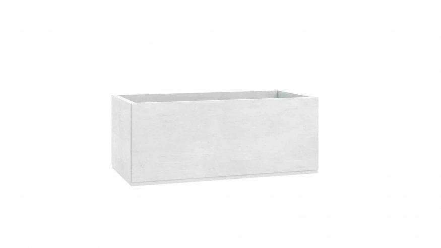 donice betonowe do ogrodu Roberto biały