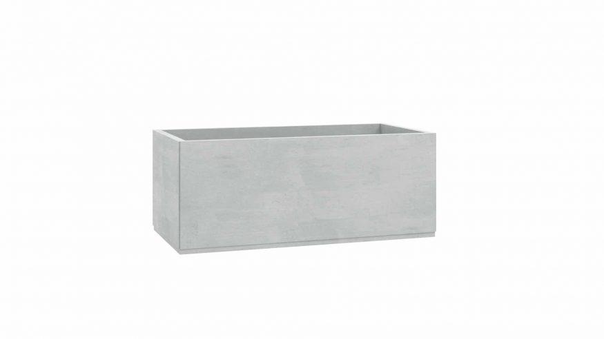 donice betonowe do ogrodu Roberto szary