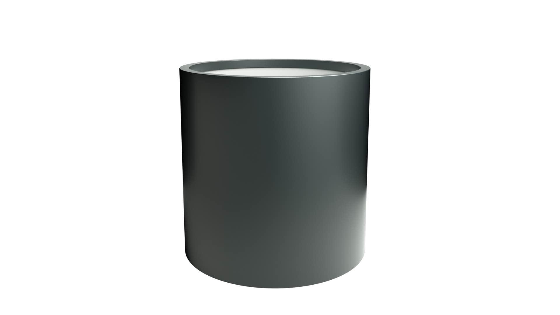 Donice okrągłe z aluminium Tiziano 3