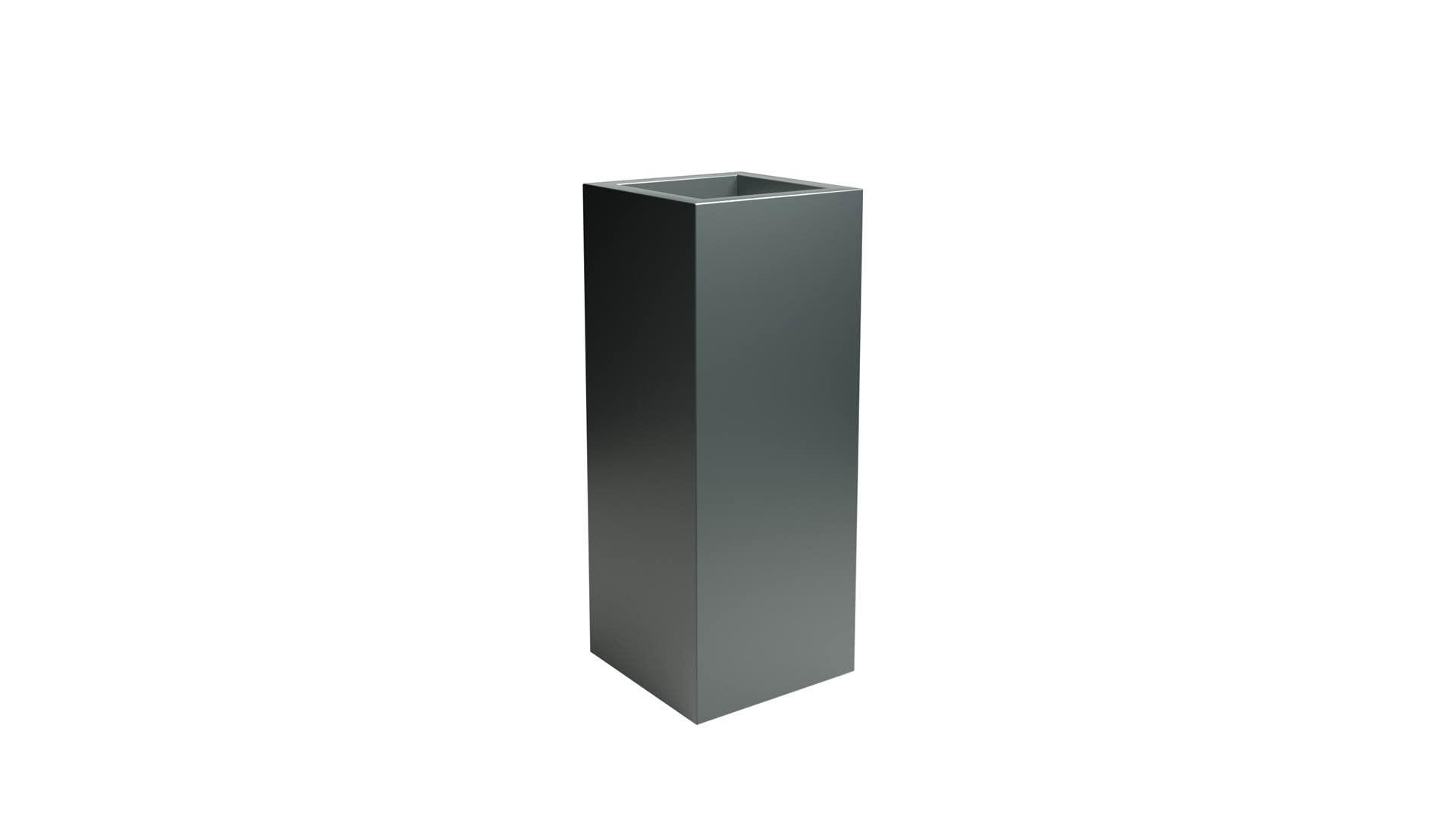 Wąska donica aluminiowa Vittorio 2