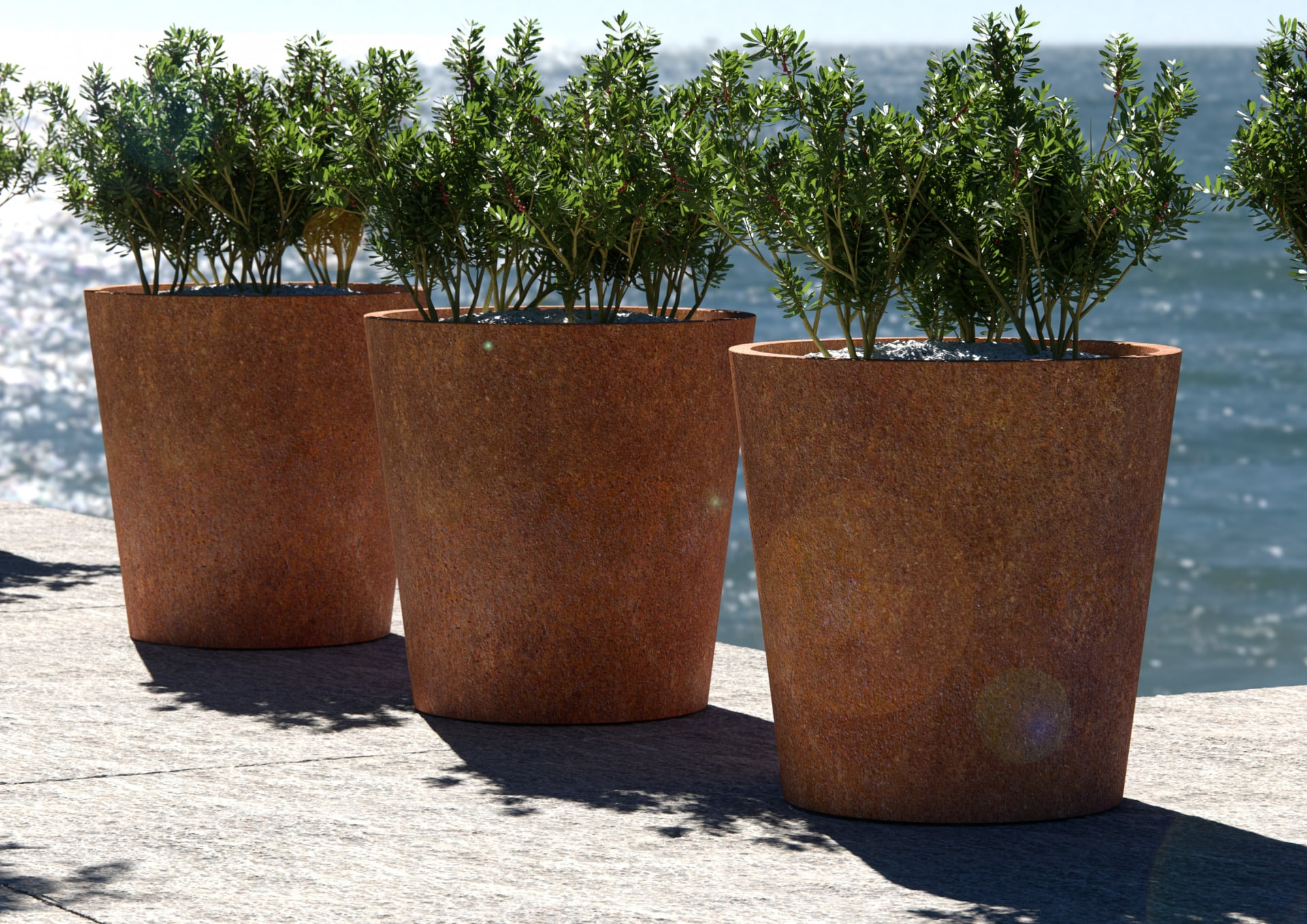 Donice z metalu pod wymiar, czyli ogród szyty na miarę