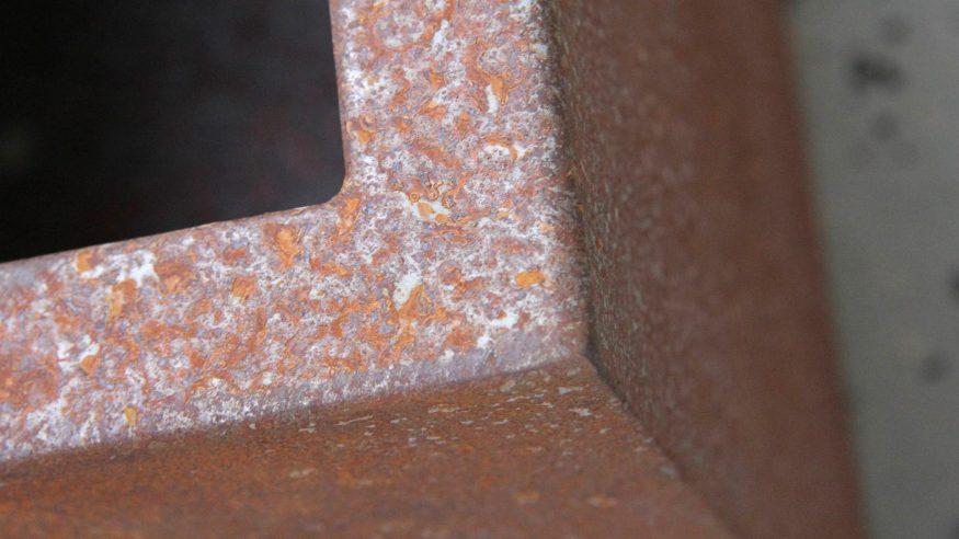 Donica metalowa - corten Cubi 8
