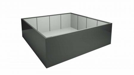 Donica aluminiowa – Alessio 14