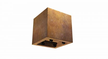 donica z cortenu na kółkach Paolo Mobile