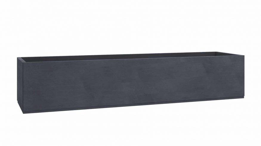 donica betonowa na wymiar Seria 5 czarny