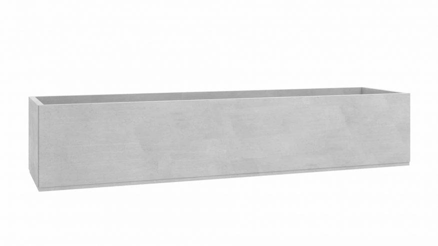 donica betonowa na wymiar Seria 5 szary