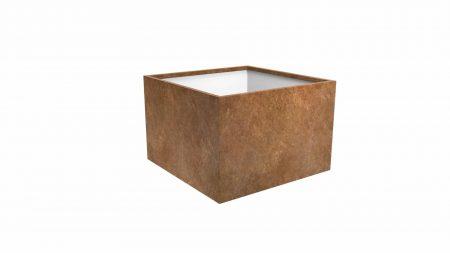 Donica metalowa – corten Cubi 14