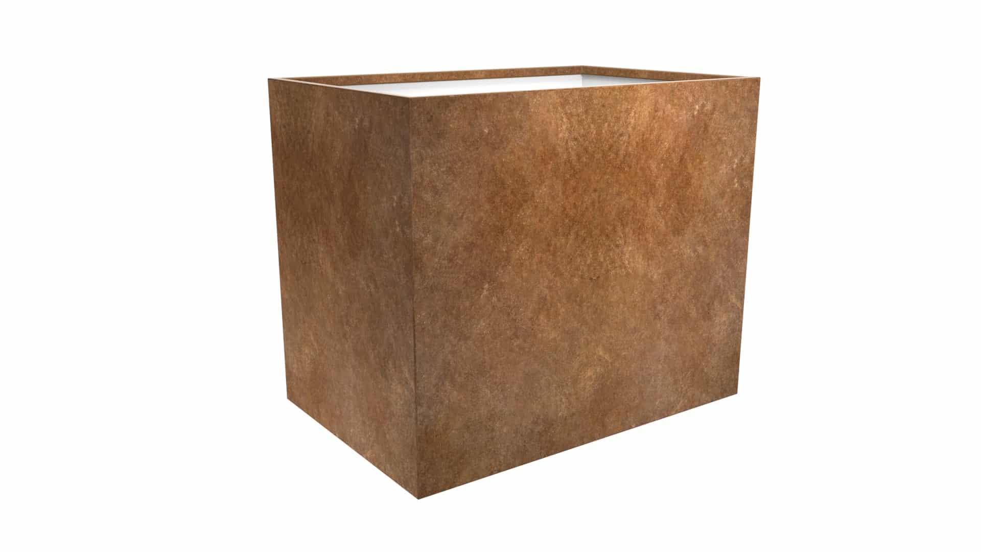 donica metalowa dla roślin Cubi 18