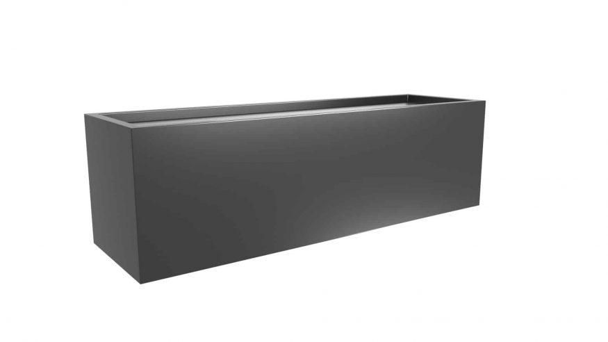 długa donica metalowa Edoardo 13
