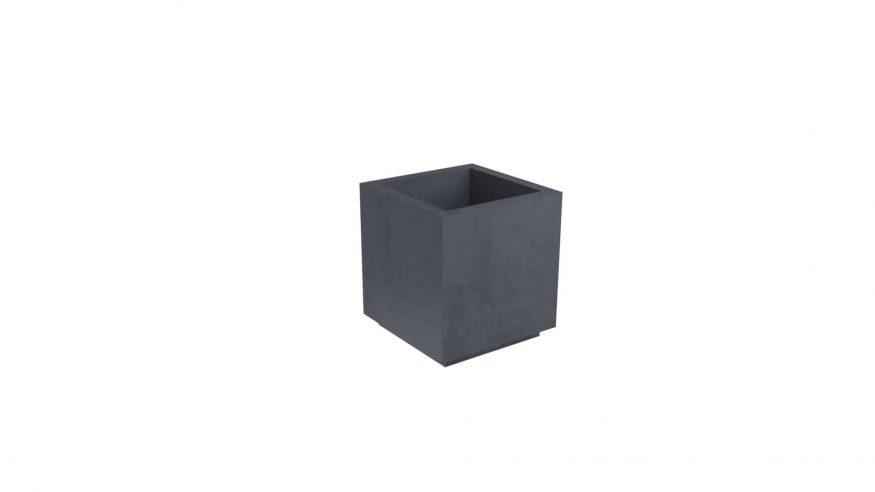 donice betonowe kwadratowe Davide 2 czarny